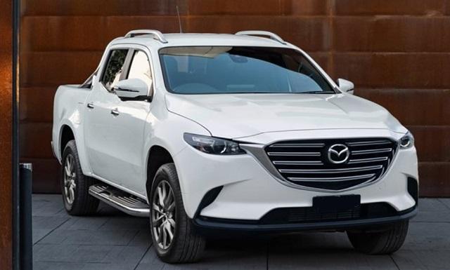 New Mazda BT-50 Front