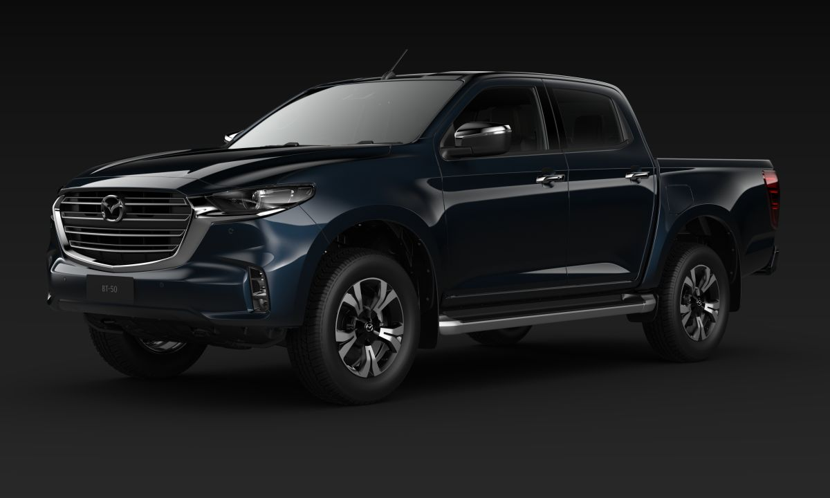 New Mazda BT-50 Side