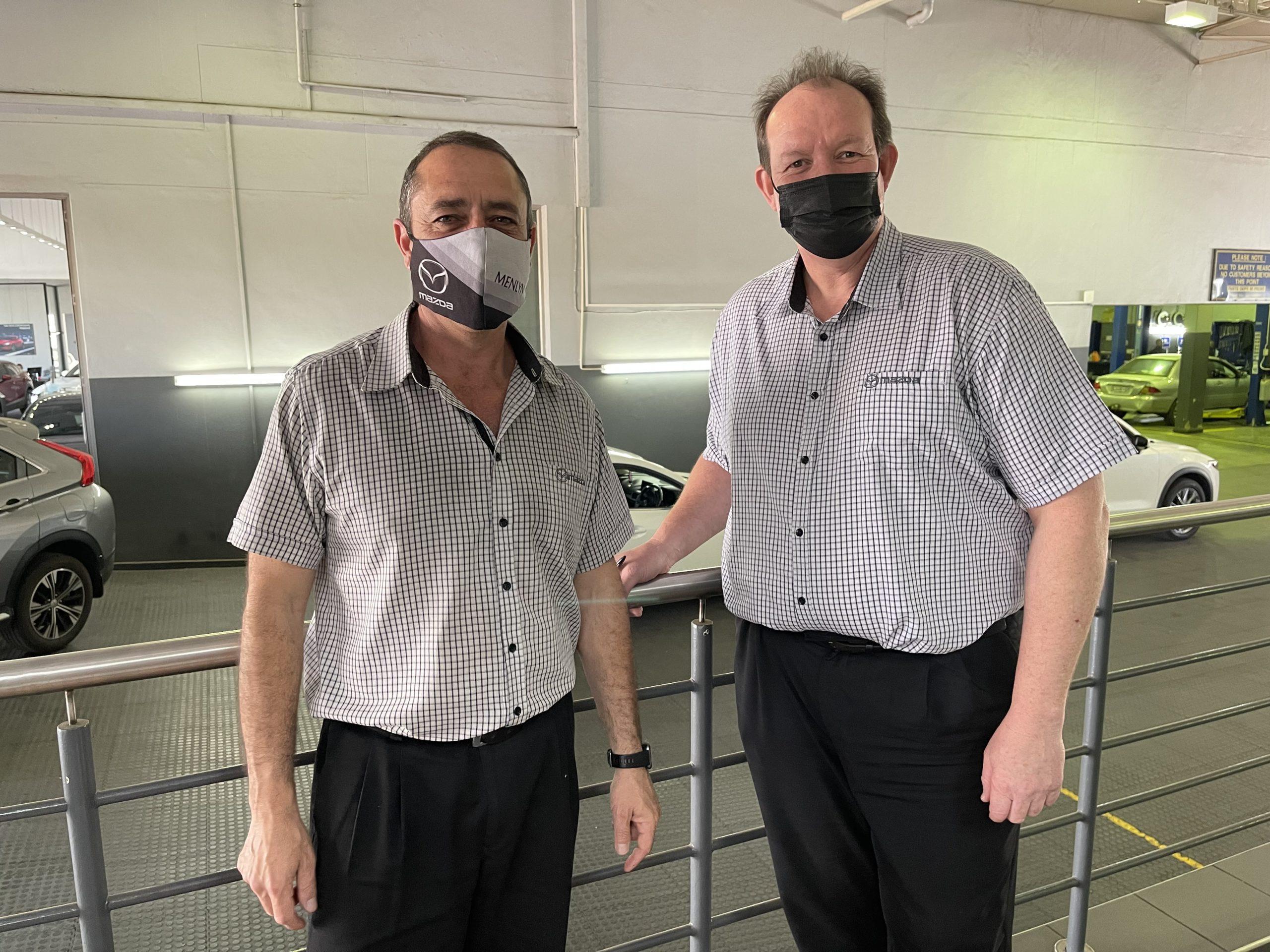 Service Advisors - Jan and Deon
