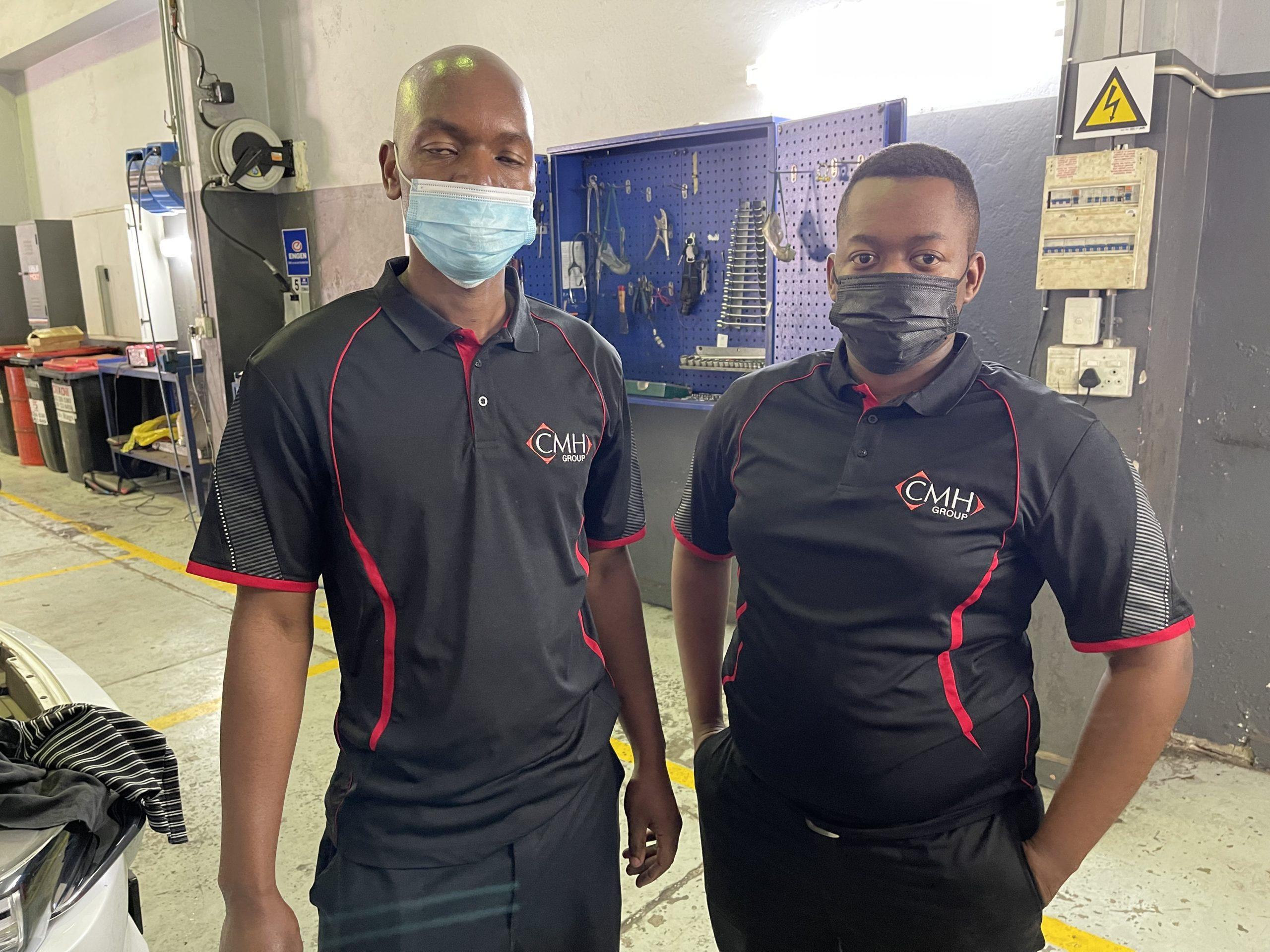 Kabelo and Isaac - Service Mechanics
