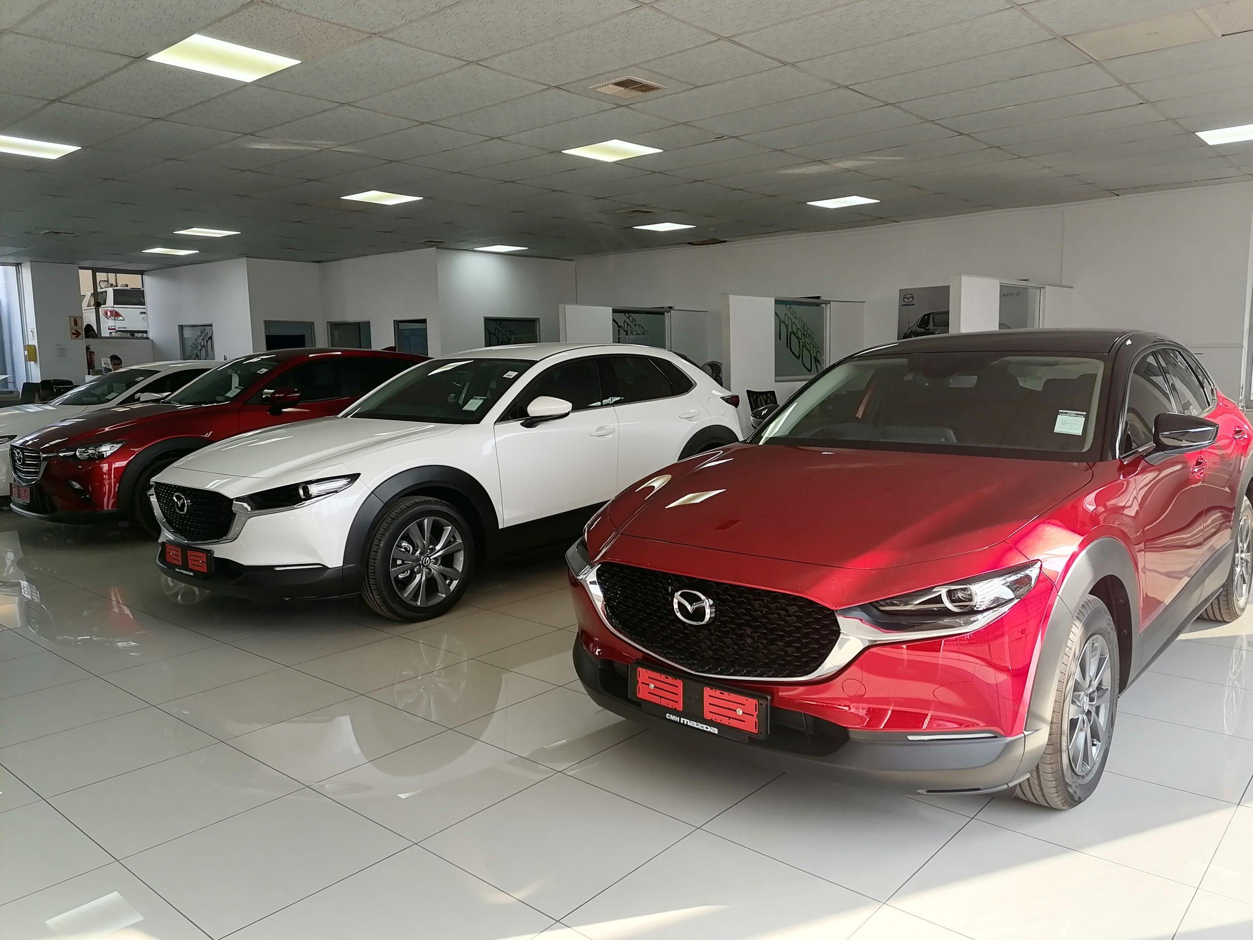 CMH Mazda Randburg Showroom