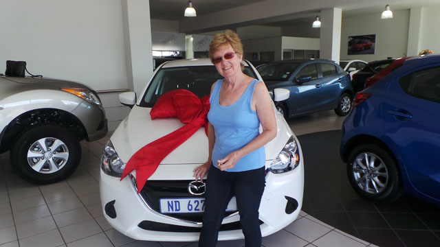 CMH Mazda Durban Deliveries Mrs Thompson