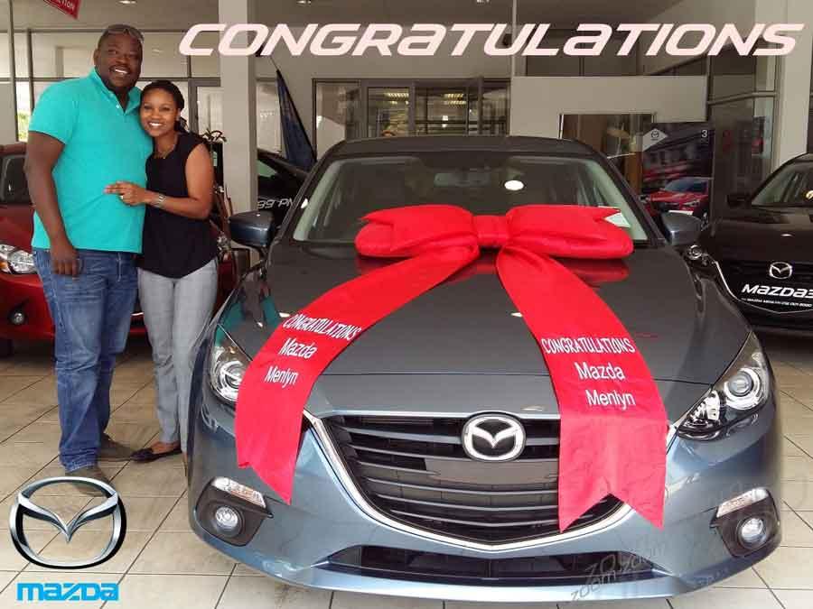 CMH Mazda Menlyn Deliveries Ms Hennie Malatji
