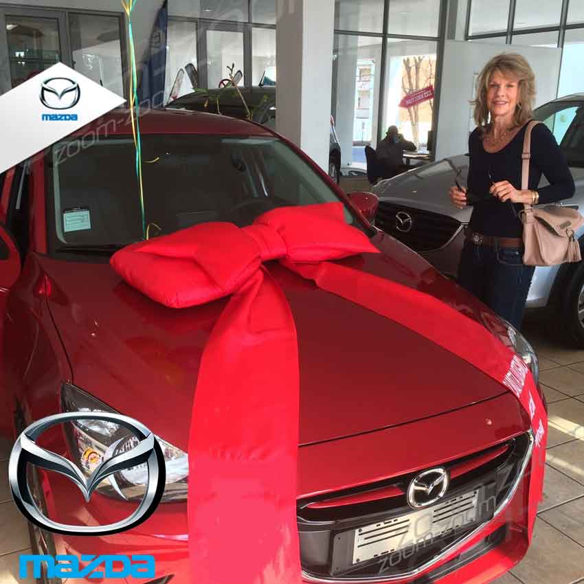 CMH Mazda Menlyn Deliveries Ms Roos